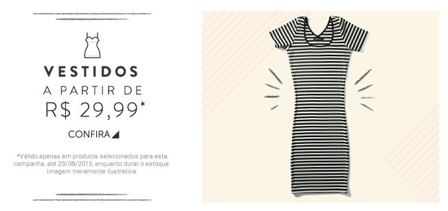 Dafiti - Vestidos a partir de R 29,99 73ab9a8b03