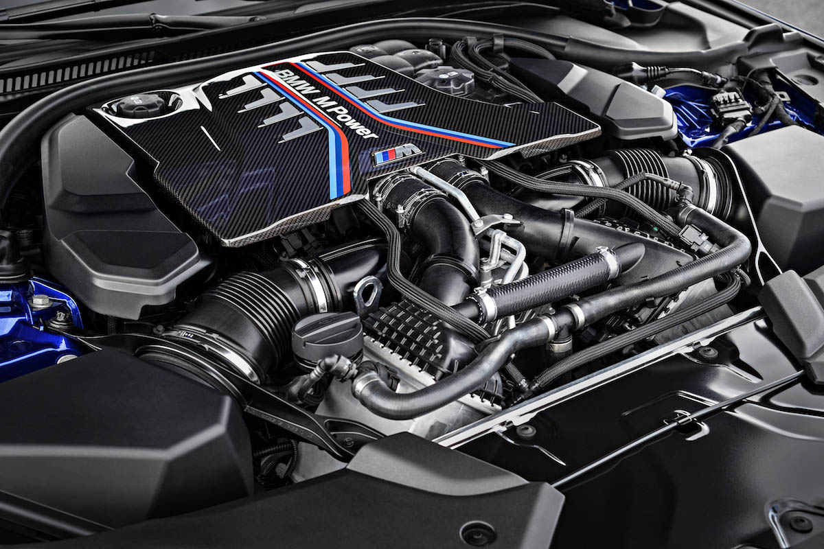 motore nuova bmw m5 2018