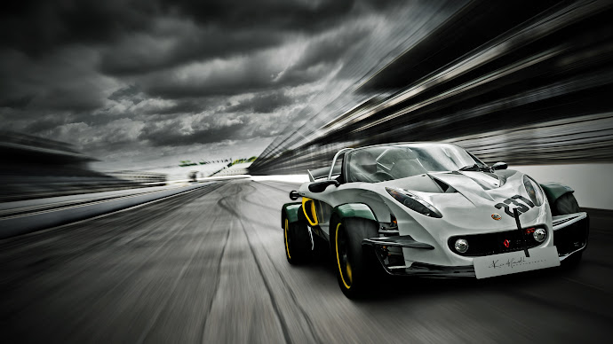 Wallpaper: Lotus Elise 340R Race Car