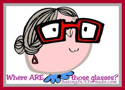 Age is | www.BakingInATornado.com | #humor #MyGraphics