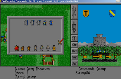 Warlords Game Screenshots 1991