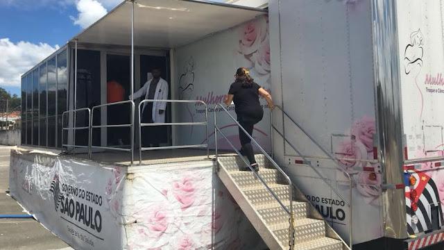 carreta mamografia em espirito santo do pinhal