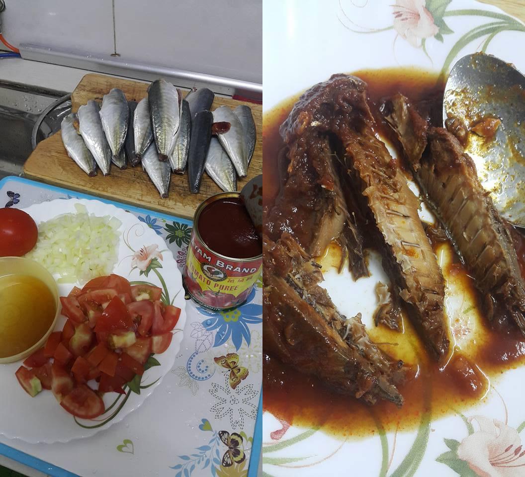 Selayang Ikan Dan Ikan Sardin Beza: Buat Sendiri Je Sardin! Rasa Macam Beli Dekat Kedai