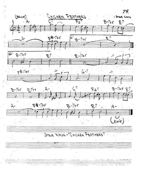 Partitura Trompeta Steve Khun