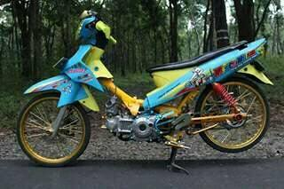 Foto Modifikasi Drag Vega Zr