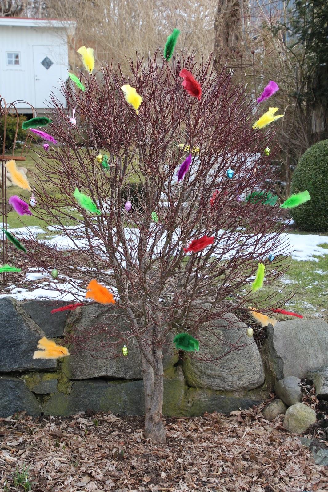 påskträd påskäggsträd ostereierbaum