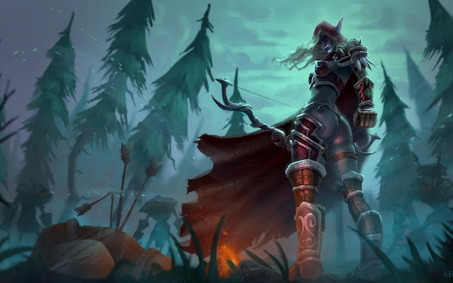 lady sylvanas windrunner wallpaper 4