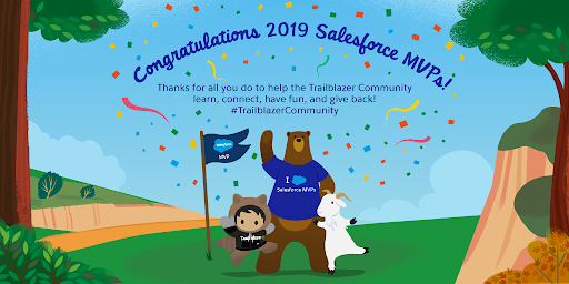 Welcome to 2019 SalesforceMVP Congratulations Ohana Celebration #TrailblazerCommunity