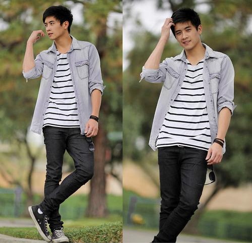 converse-all-star-masculino-dicas-para-usar-camiseta-listrada-preto-e-branco