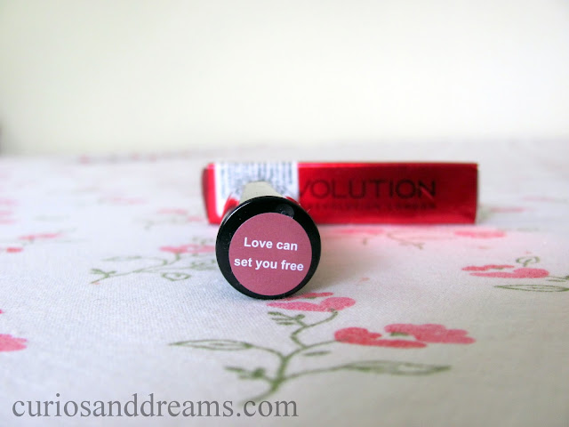 Makeup Revolution Liphug Lipstick Love Can Set You Free review, Makeup Revolution Liphug Lipstick Love Can Set You Free swatch