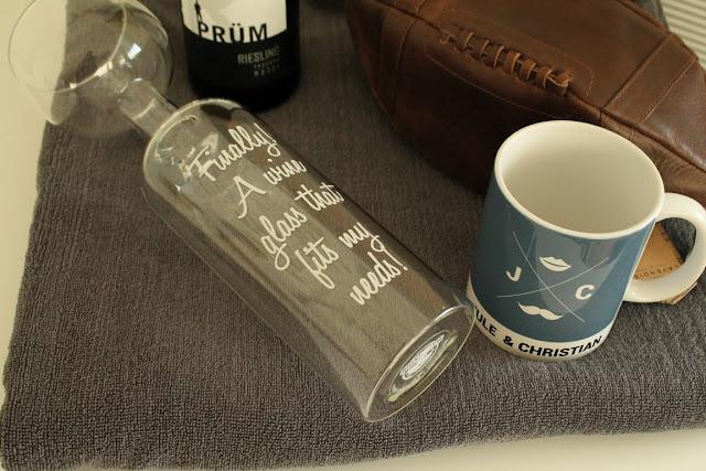 Weinglas XXL Lieblingsglas und Wein unromantische Geschenke zum Valentinstag Jules kleines Freudenhaus