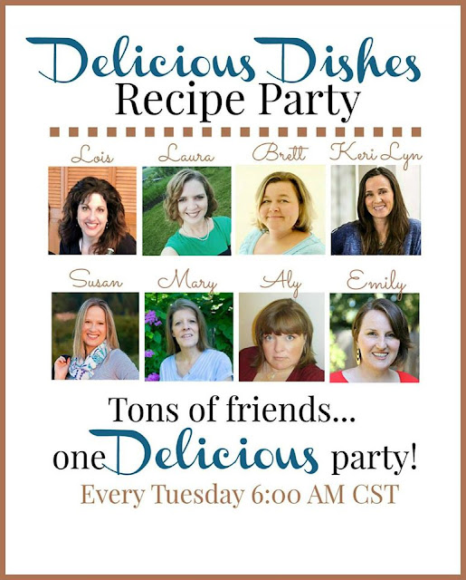 Delicious Dishes Recipe Party featured on Walking on Sunshine Recipes