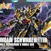 HGBF 1/144 Gundam Schwarzritter - Release Info, Box art and Official Images