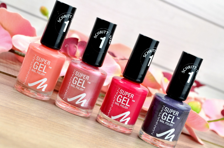 Manhattan Super Gel Nail Polish - neue Nuancen