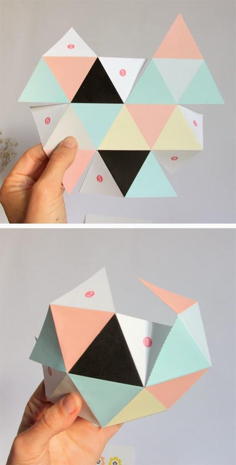 pudełko geometryczne
