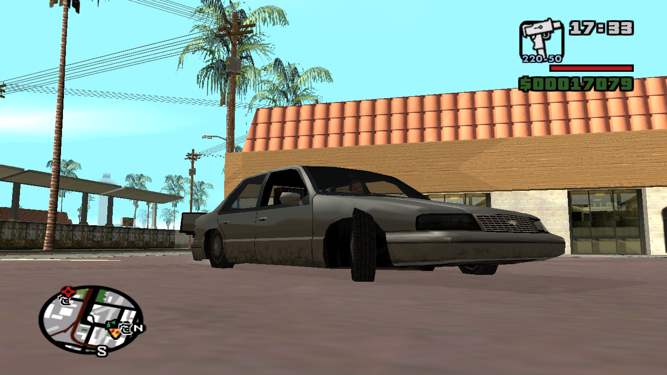 Low Poly garage: 1990 Chevrolet Lumina Sedan for GTA SA