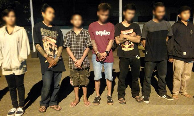Operasi Pekat, Satpol-PP Bone Amankan Tujuh Remaja