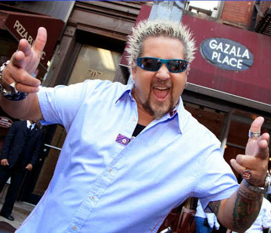 "Guy Fieri ""Behind the Scenes Video"" Chef and Host of ""Diners, Drive-Ins and Dives"" on the FoodNework          ~          Miami Food Review"