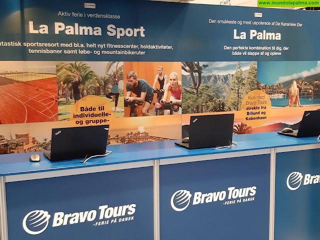 La Palma continúa su promoción como destino turístico en ferias internacionales de Dinamarca, Múnich y Pamplona