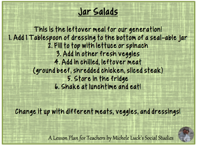 Coming up with creative ideas for school lunches can be a challenge. These quick ideas are great for allowing variation, flavor, and ease!