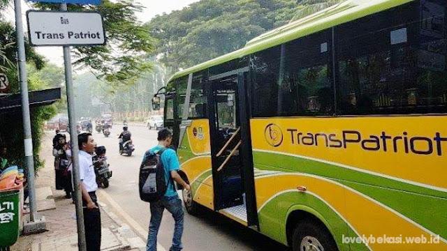 Bus Trans Patriot Kota Bekasi