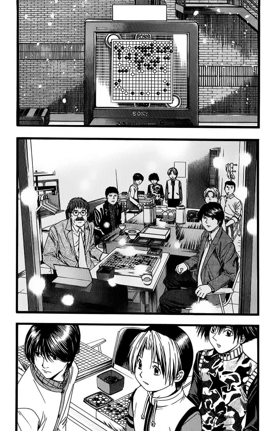 Hikaru No Go hikaru no go chap 98 trang 13