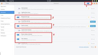 extensi tweak tool - xface2