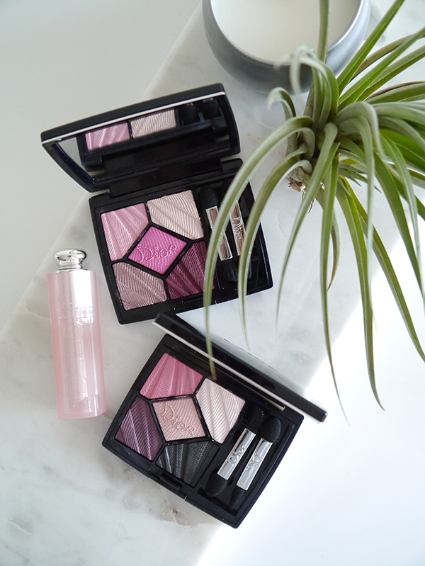 Dior 5 Couleurs Glow Addict Eyeshadow Palettes in 887 Thrill and 667 Flirt