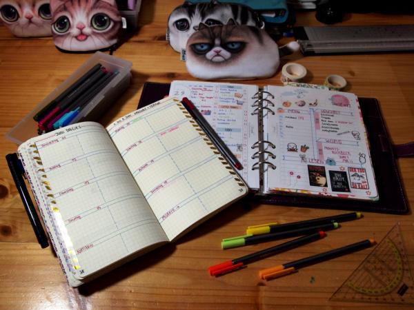 Plan with me : Mein Schreibtisch