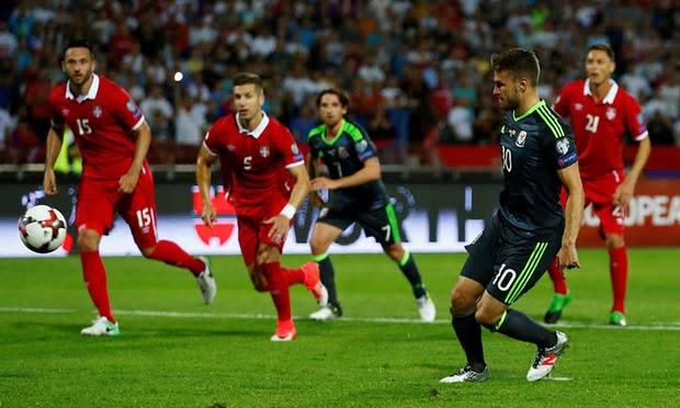 Gales sumó cinco empates consecutivos y sigue alejándose de Rusia 2018