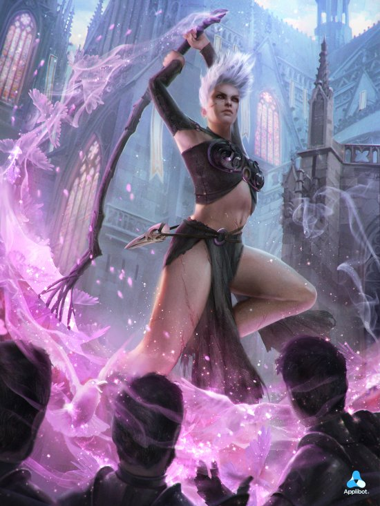 Bram Sels artstation ilustrações fantasia games arte magic the gathering