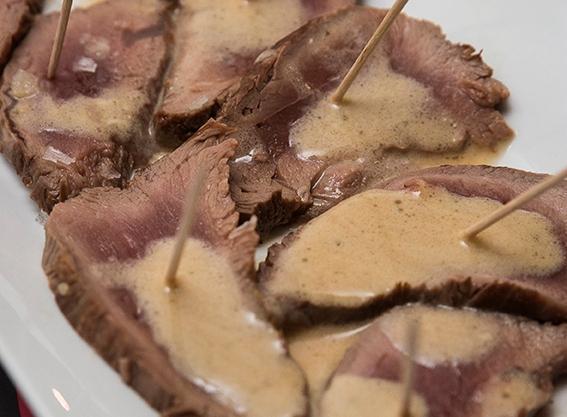 tataki de solomillo de ternera