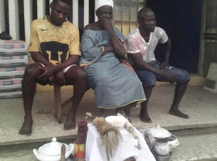 Mother & Her Sons Allegedly Apprehended For  Kidnapping  In Lagos