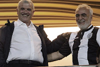 Κοινή ανακοίνωση εξέδωσαν ο Δημήτρης Μελισσανίδης και ο Ιβάν Σαββίδης ενόψει του τελικού του κυπέλλου
