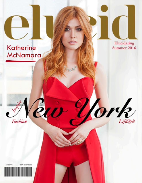Actress, @ Katherine McNamara by Richard Cordero for Elucid Magazine, Summer 2016