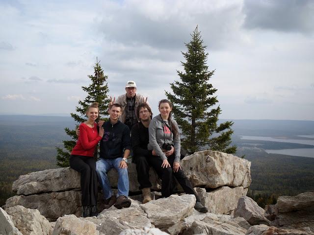 Мы на вершине хребта Зюраткуль