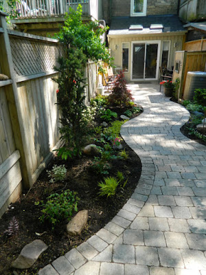 Cabbagetown Toronto garden makeover after by Paul Jung Gardening Services