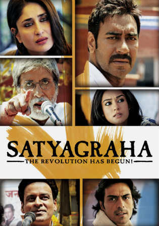 Satyagraha 2013 DVDRip 450Mb Full Hindi Movie Download 480p watch Online Free bolly4u