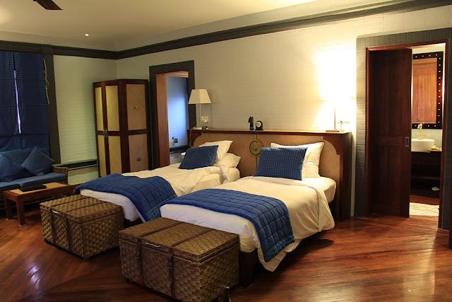my room at Bagan Lodge Resort
