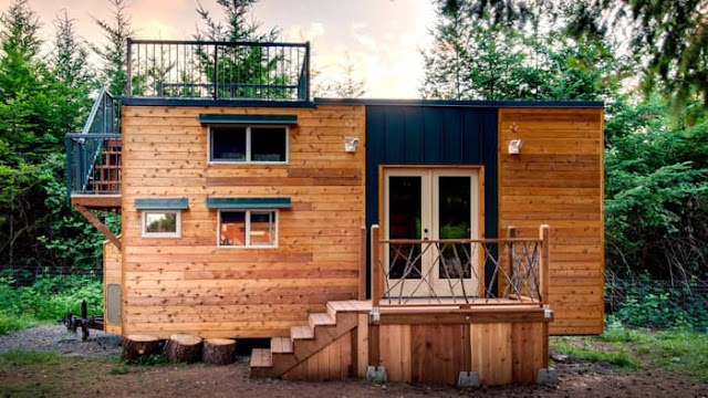 Tiny House Town The Basecamp Tiny House 204 Sq Ft