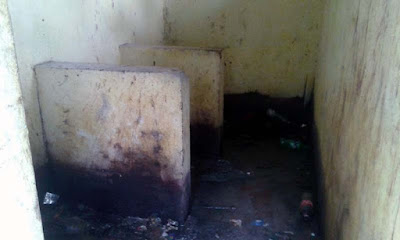Bad conditon of public toilet in Mungpoo