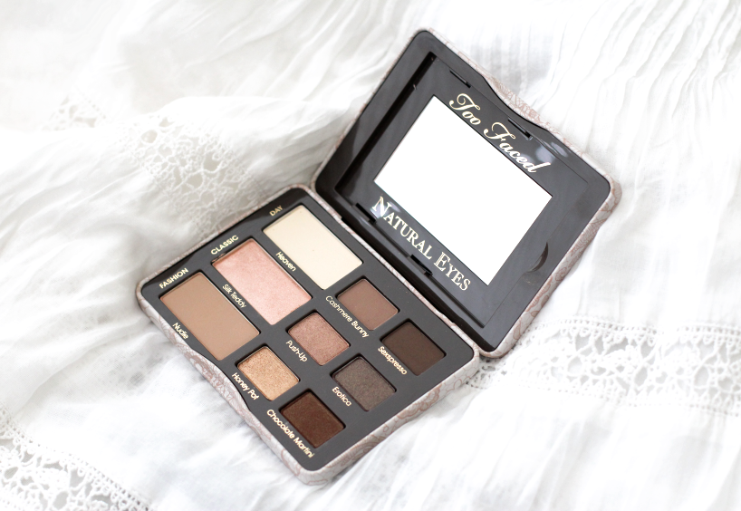 Too Faced Natural Eyes Palette Makeup Beauty