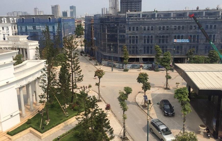 Tiến độ xây dựng louis city đại mỗ 10-5