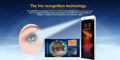 HomTom HT10 con escaner de iris, noticias de tecnología