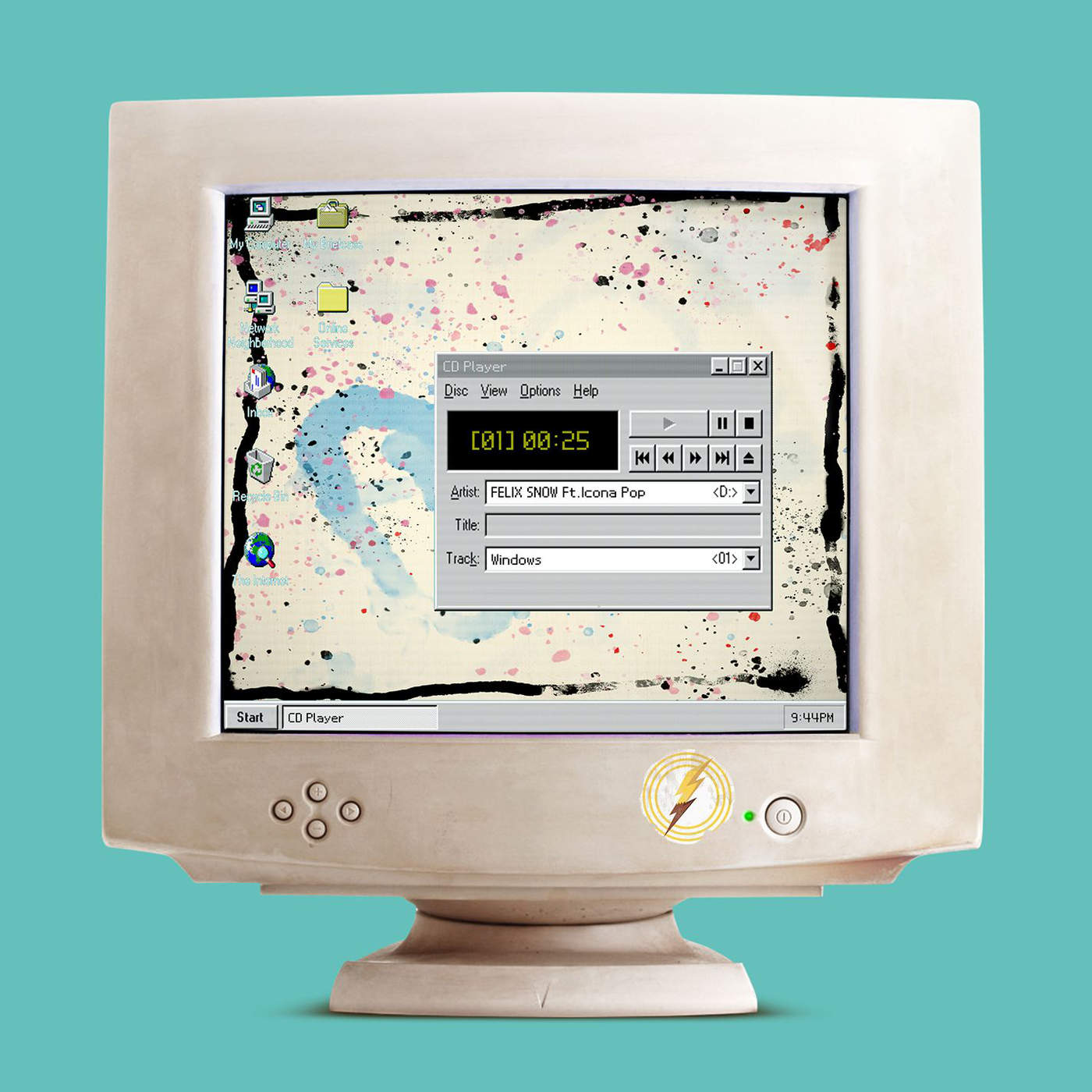 Felix Snow - Windows (feat. Icona Pop) - Single Cover