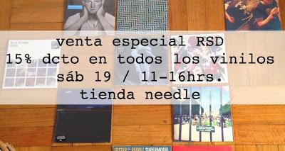 Record Store Day en Chile en Needle