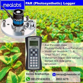 Perekam Data (Data Logger) Photosynthetic Active Radiation atau PAR