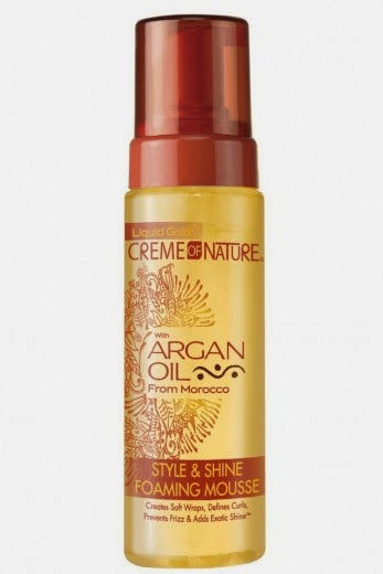 Creme Of Nature Argan Oil Foaming Wrap Lotion Ingredients
