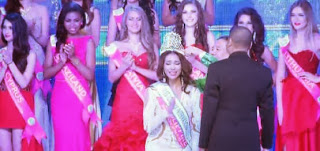 Miss Tourism International 2013-14 Angeli Dione Gomez
