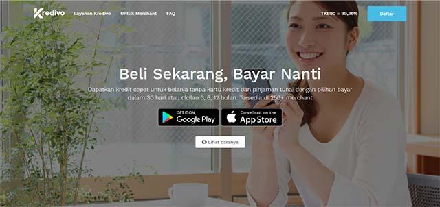 Kredivo - Aplikasi Pinjaman Online android terbaik